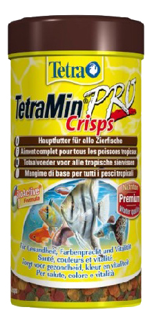 Корм для рыб Tetra Min PRO crisp, чипсы, 250 мл фото