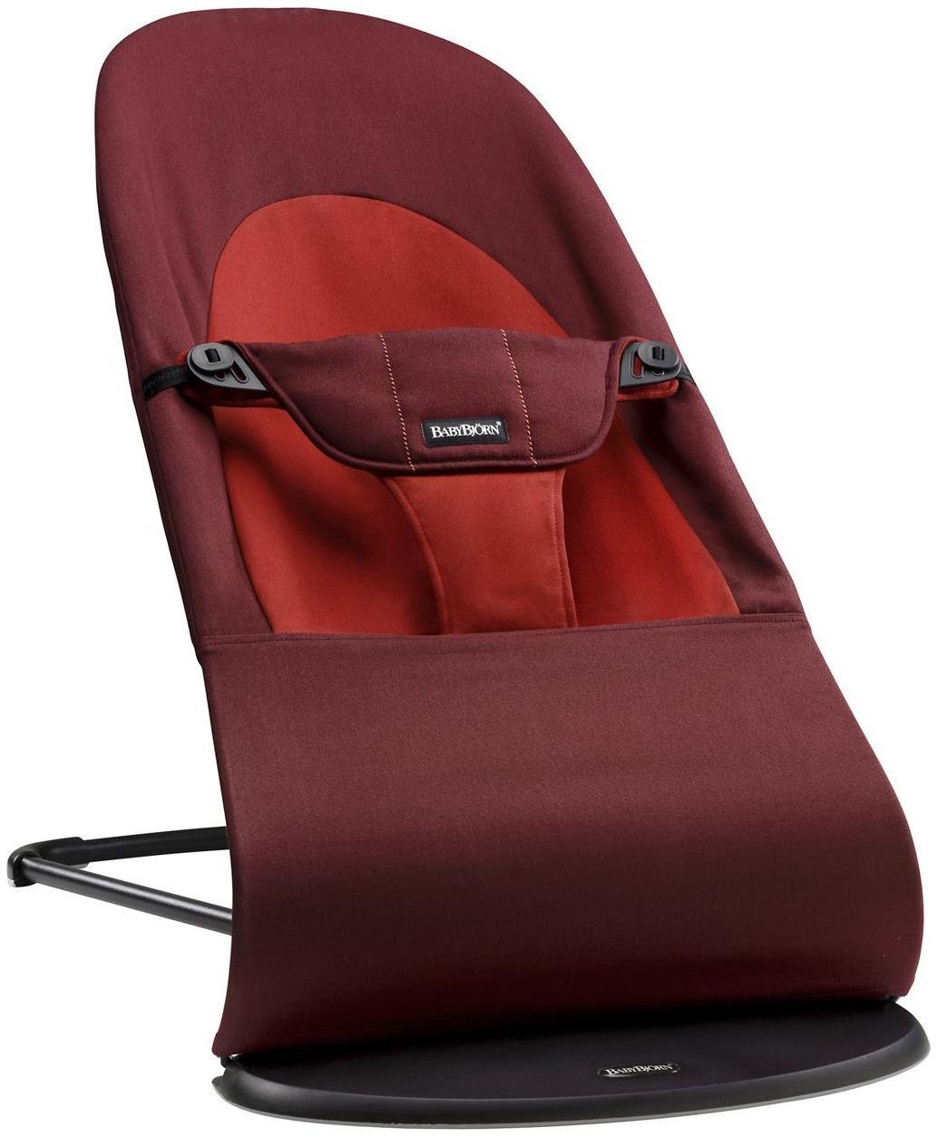Шезлонг-кресло BabyBjorn Balance Sof терракотовый/оранжевый (0050.24)