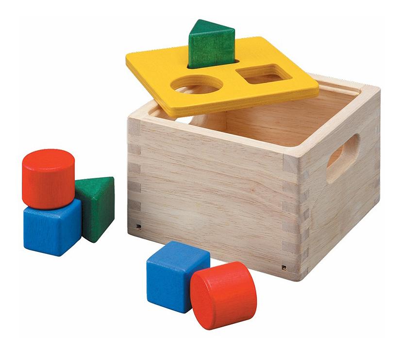 Купить Игрушка Plan Toys Блок для сортировки фигур , PlanToys, Развивающие игрушки