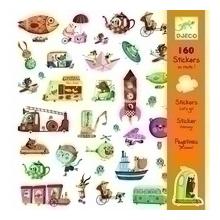 Купить Наклейка декоративная для детской комнаты Djeco В дорогу!, Аксессуары для детской комнаты
