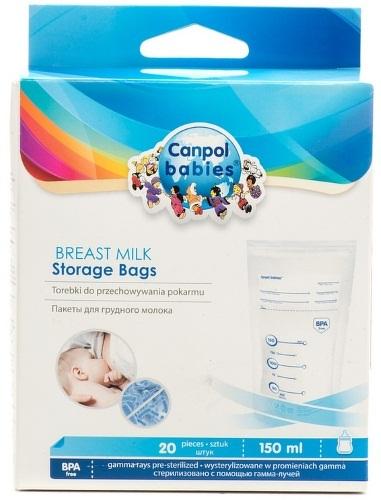 Пакеты для хранения грудного молока CANPOL BABIES