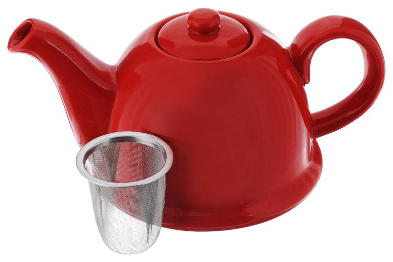Заварочный чайник Mayer#and#Boch 24309 Красный, белый