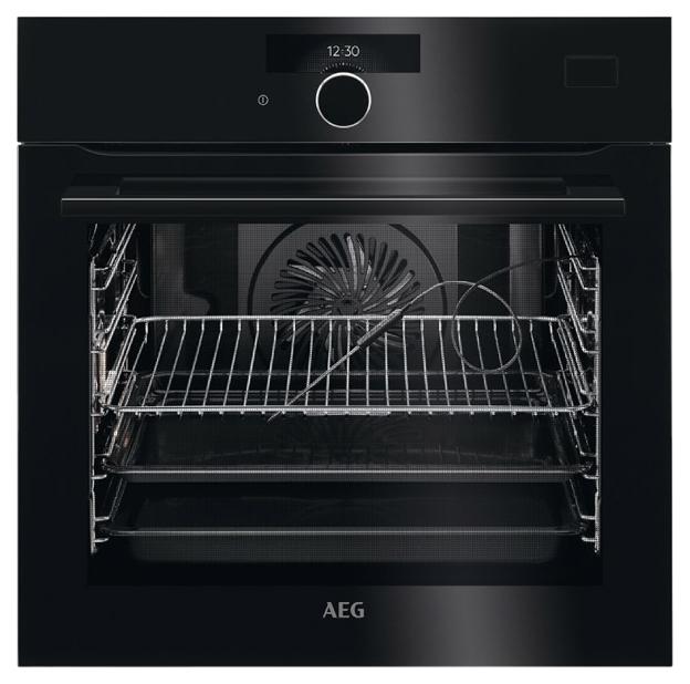 Встраиваемый электрический духовой шкаф AEG BSR882320B Black