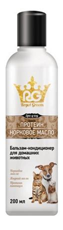 Royal Groom Бальзам кондиционер Протеин и Норковое масло