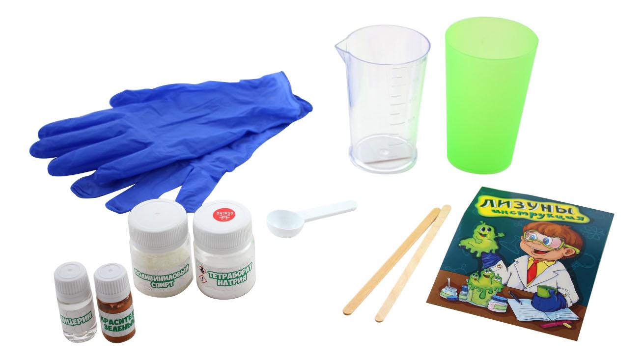 Купить Набор для исследования Good Fun Лизун зеленый, Наборы для создания слаймов