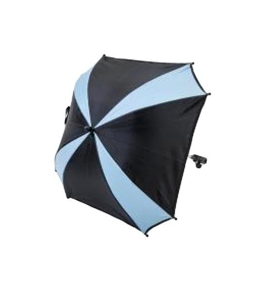 Купить Зонтик для коляски Altabebe AL7003-24 Black/Light Blue, Комплектующие для колясок