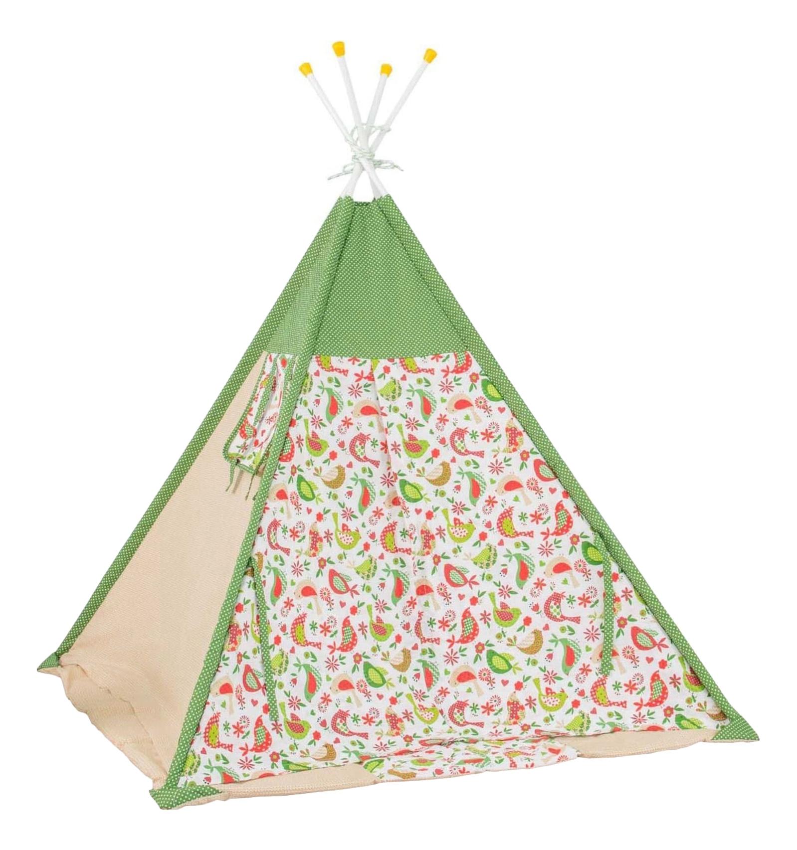 Игровая палатка Polini Кантри, зеленый