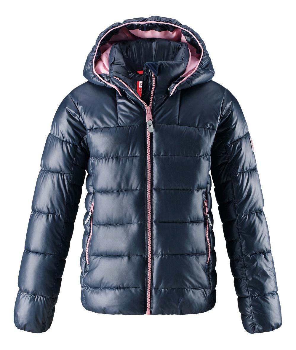 Куртка детская Reima Winter Jacket Maija темно-синяя р.134