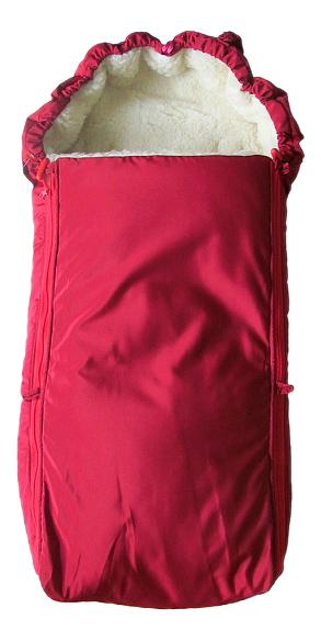 Конверт-мешок для детской коляски Чудо-Чадо Классика вишневый
