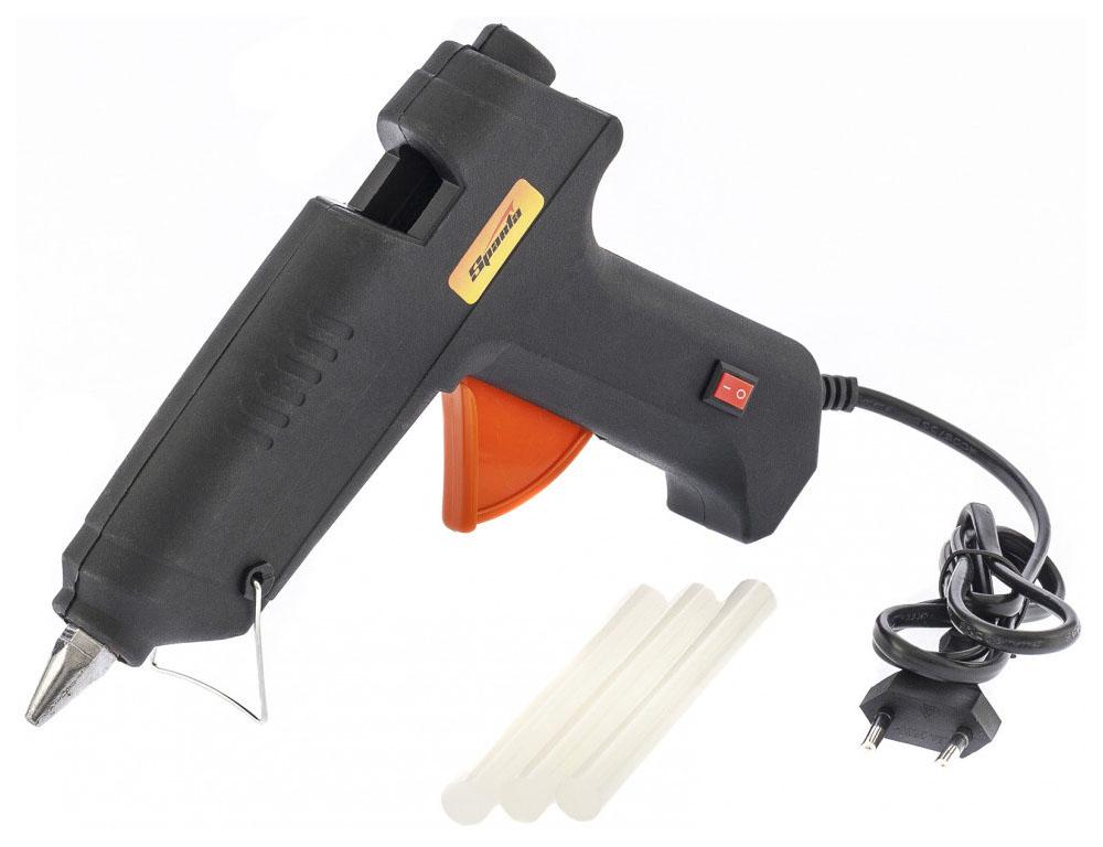 Сетевой клеевой пистолет SPARTA 12 мм в кейсе