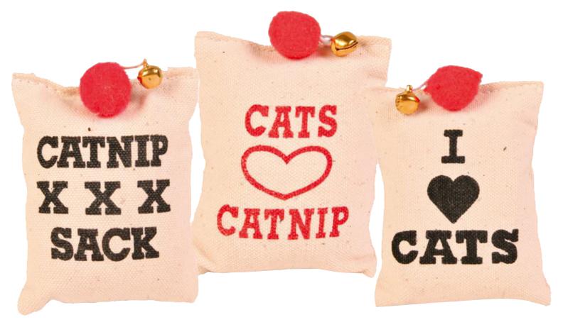 Мягкая игрушка для кошек TRIXIE, текстиль, металл, плюш,