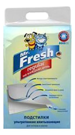 Пеленки для домашних животных Mr.Fresh для собак и кошек 24шт 60 x 60см 24шт