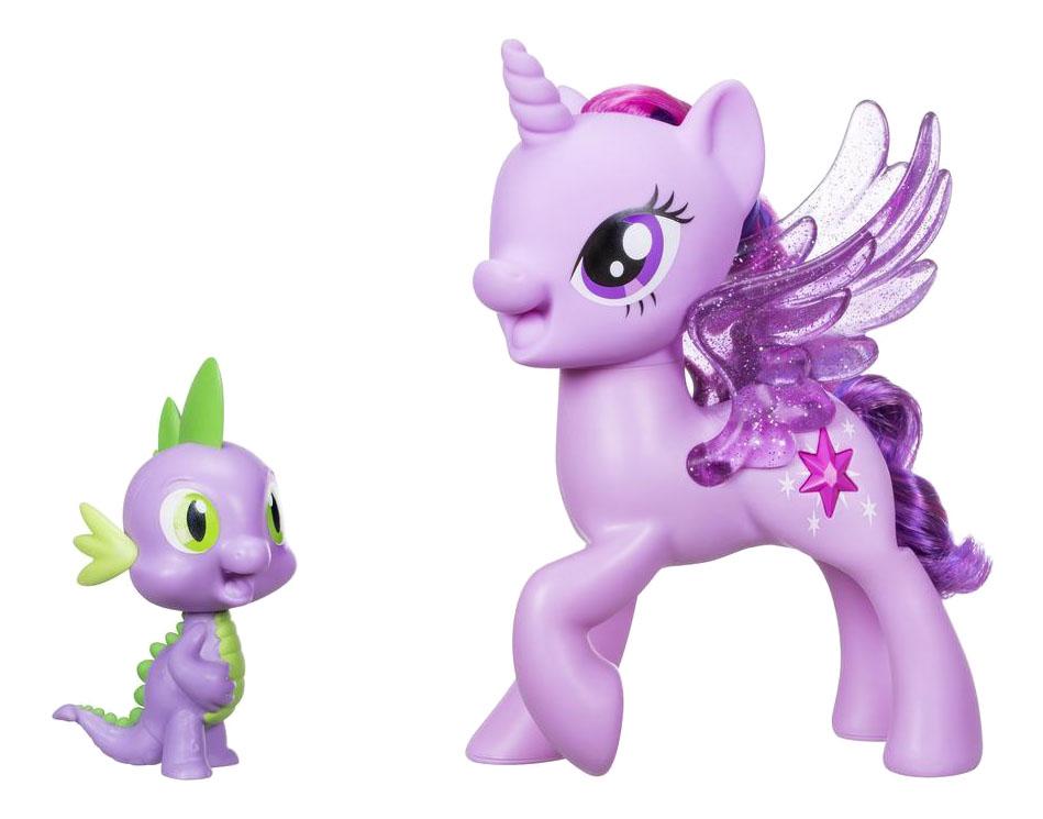 Игровой набор My little Pony My Little Pony Сияние Поющие Твайлайт и Спайк