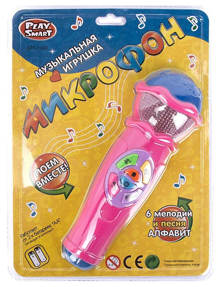 Интерактивная игрушка Play Smart Музыкальная игрушка микрофон