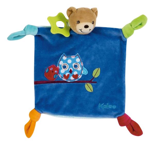 Мягкая игрушка Kaloo Комфортер на руку Цвета Мишка 20 см K963262, Комфортеры для новорожденных  - купить со скидкой