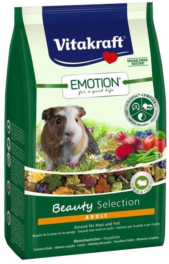 Корм для морских свинок Vitakraft Emotion Beauty Selection 0.6 кг 1 шт