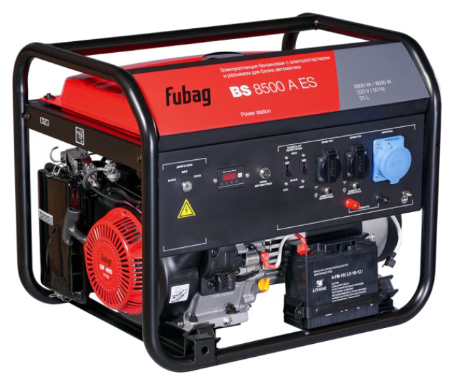 Электростанция бензиновая FUBAG BS 8500 A ES