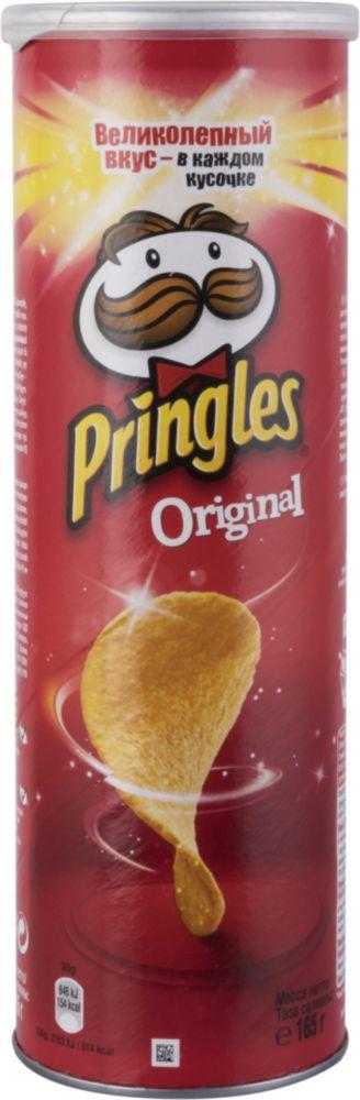 Картофельные чипсы Pringles оригинальные 165 г фото