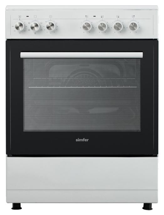 Электрическая плита Simfer F66VW05017 White