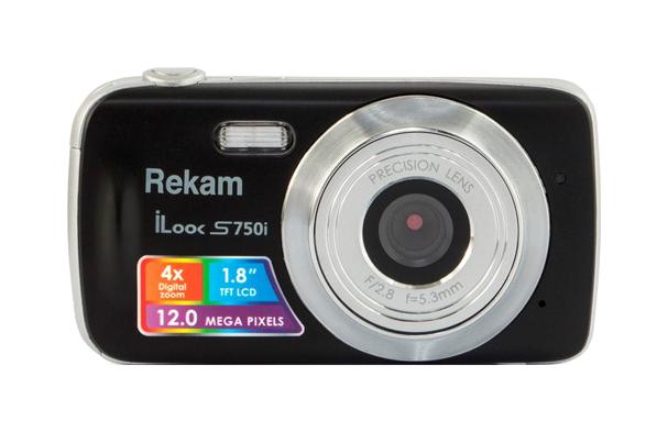 Фотоаппарат цифровой компактный Rekam iLook S750i Silver/Black