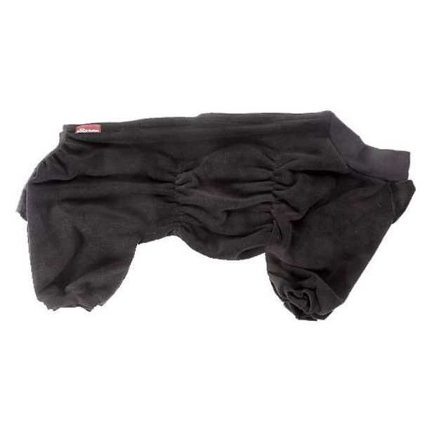 Комбинезон для собак OSSO Fashion размер L унисекс, черный, длина спины 35 см