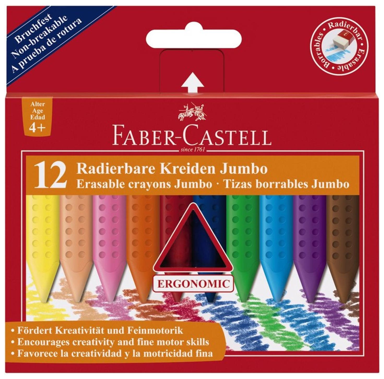 Восковые мелки Faber Castell JUMBO 12 шт