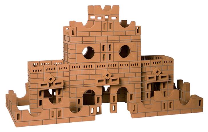 Конструктор для малышей BrickMaster Кирпичики Усадьба 484 деталь.