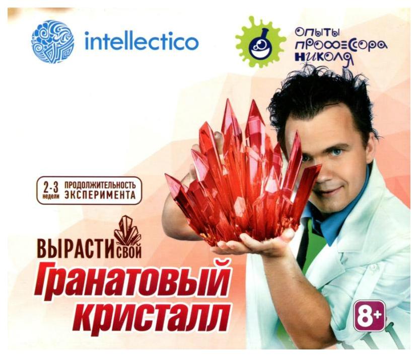 Купить Магические кристаллы, Набор для выращивания кристаллов Intellectico малый, цвет красный, Наборы для выращивания кристаллов