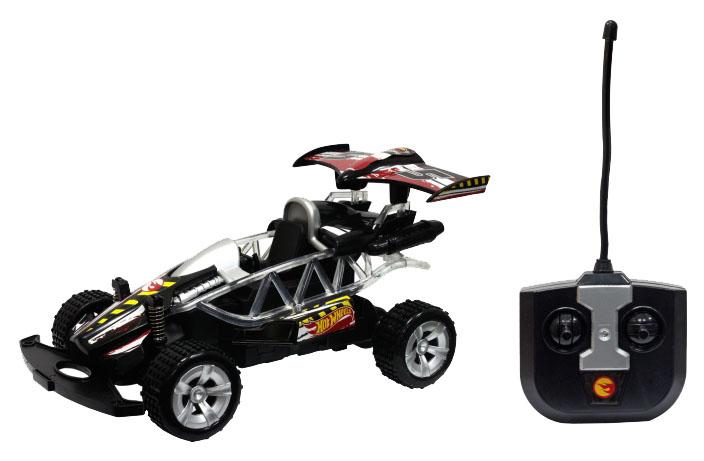 Купить Радиоуправляемая машинка 1 TOY Hot Wheels Багги 1:20 со светом чёрная, Радиоуправляемые машинки