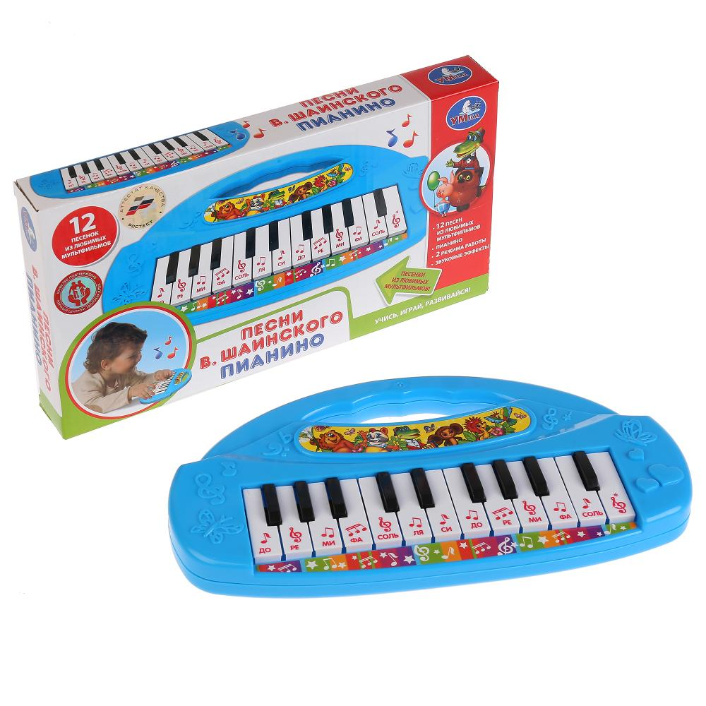 Пианино Умка 12 песен В.Шаинского, Детские музыкальные инструменты  - купить со скидкой