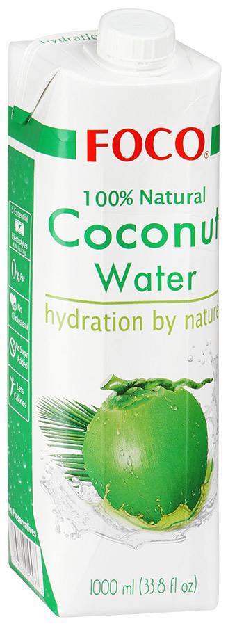 Вода кокосовая Foco 1л