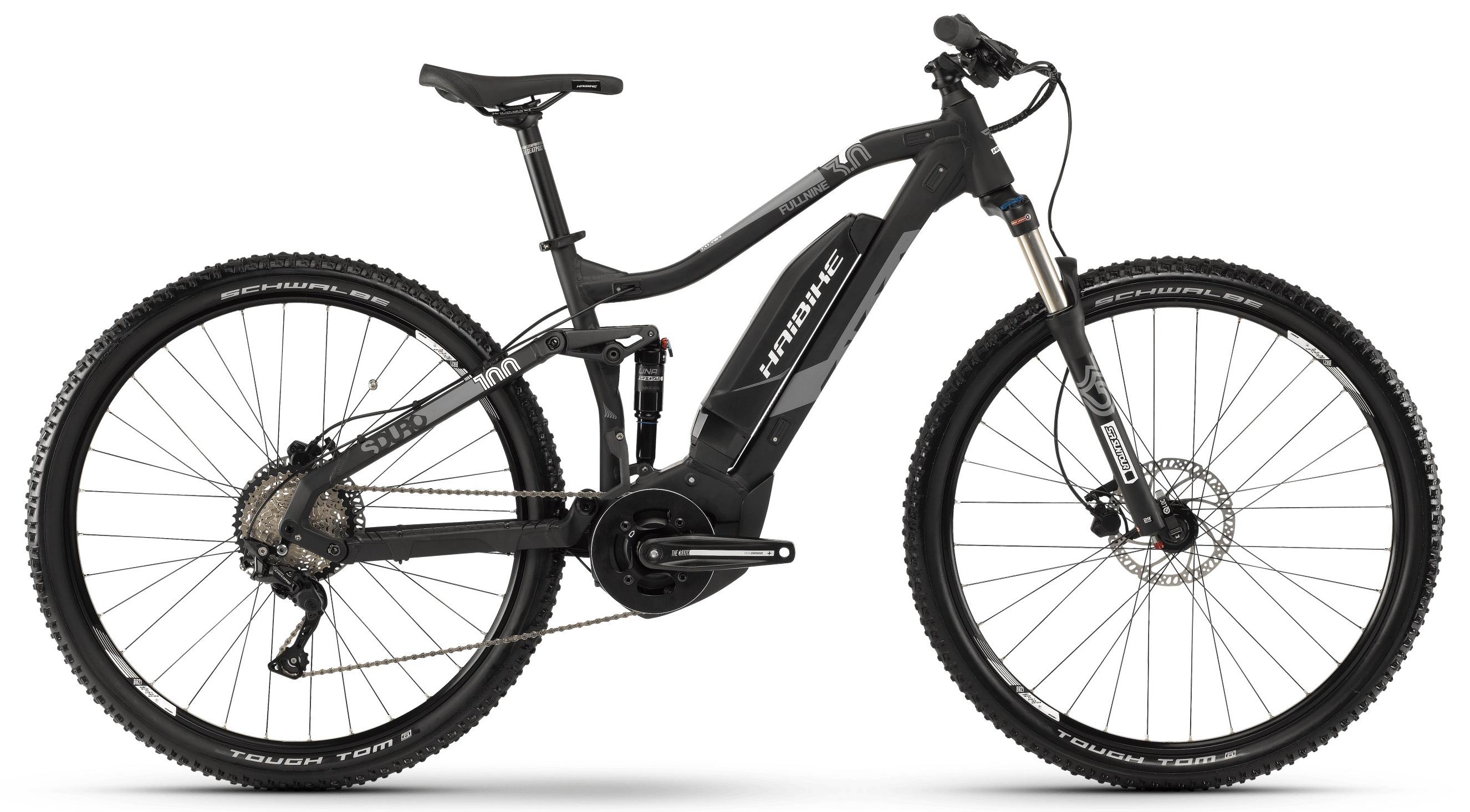 "Электровелосипед Haibike Sduro FullNine 3.0 500Wh 2019 18"" black"