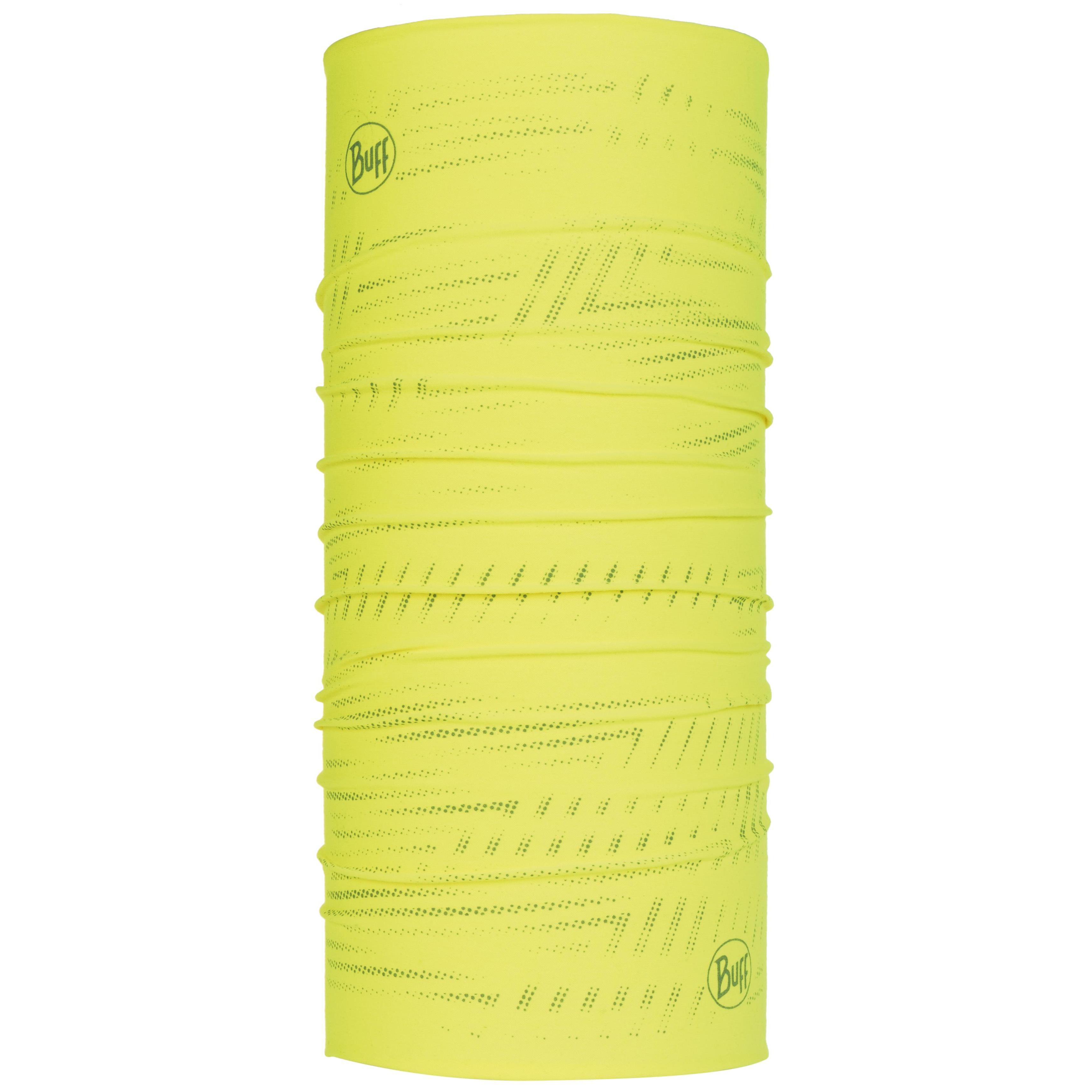 Бандана Buff Coolnet UV+ Reflective желтая One Size
