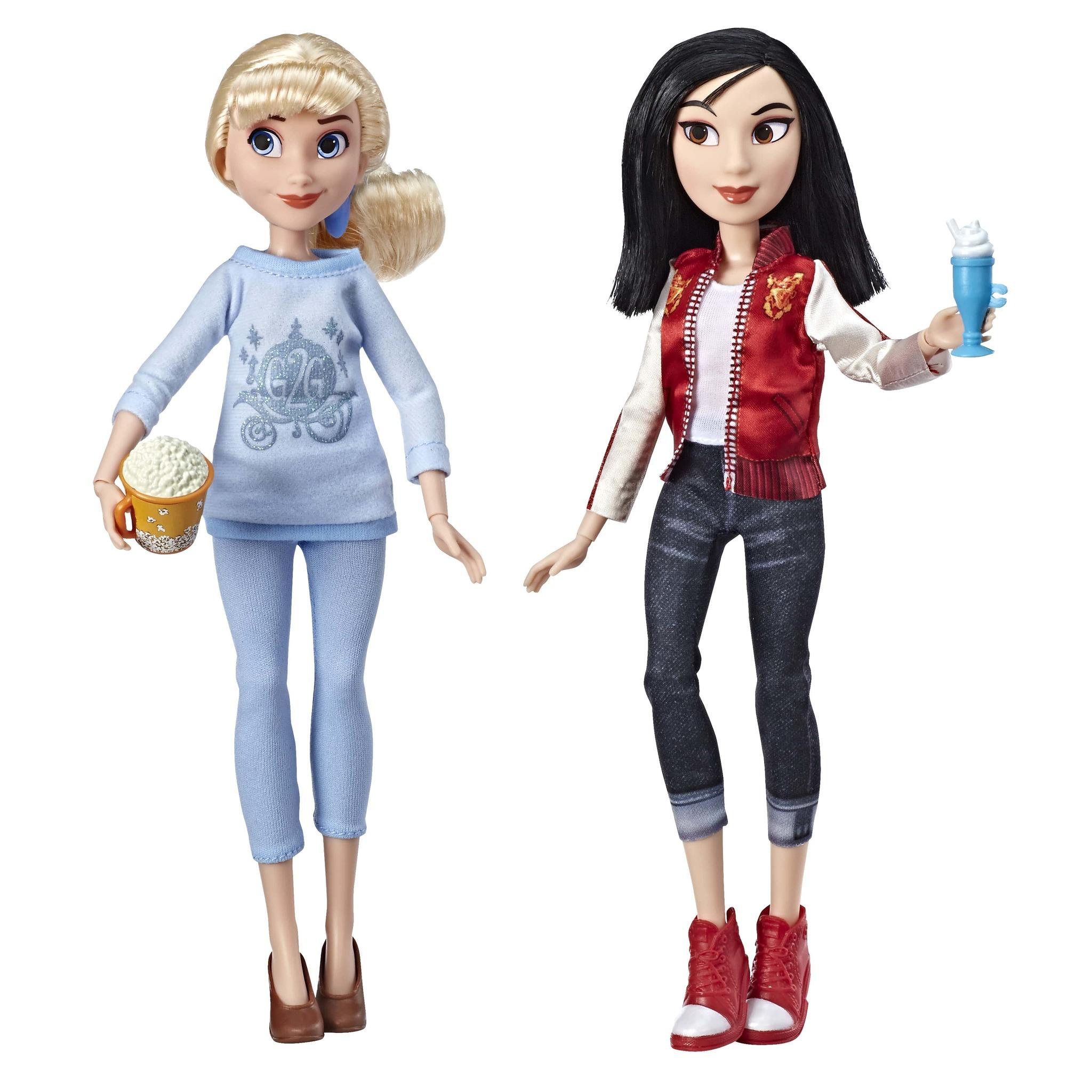 Купить Куклы Disney Princess Золушка и Мулан - Ральф против интернета E7414,