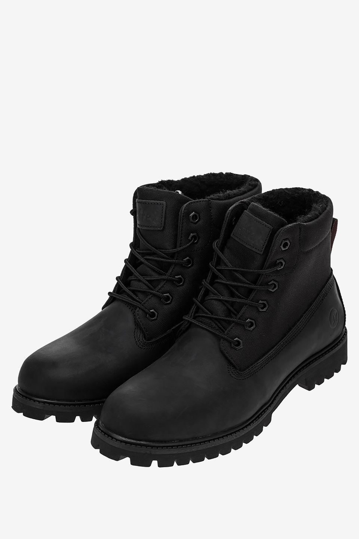 Ботинки мужские черные AFFEX 121-NJS-BLK-M