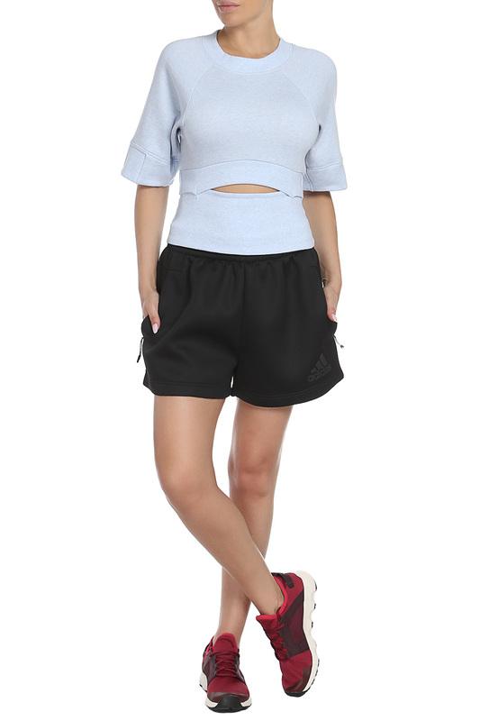 Спортивные шорты Adidas BS3599 BLACK, (BIG), черные,