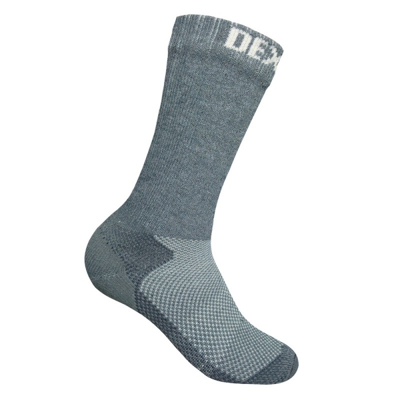 Носки мужские DexShell Terrain Walking, серые, L INT фото