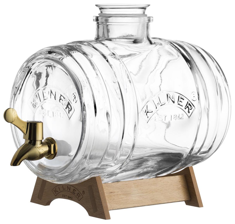 Диспенсер для напитков Barrel на подставке 1
