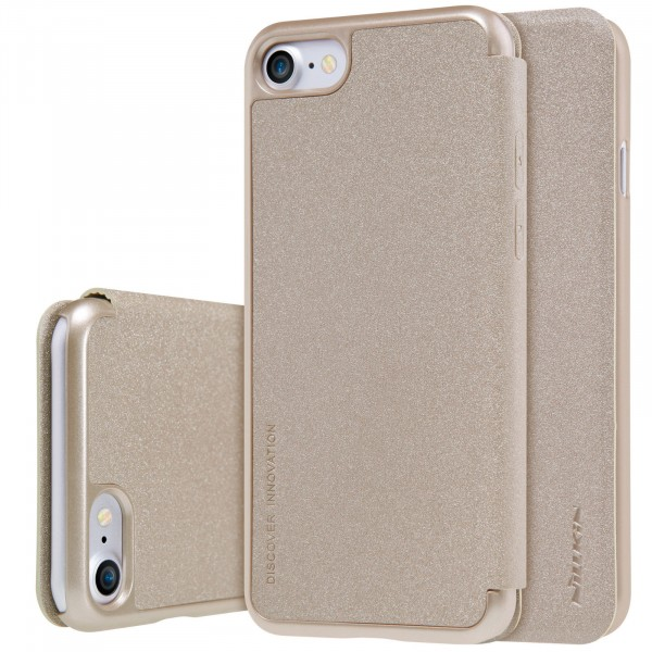 Чехол Nillkin Sparkle Series для Apple iPhone 7/8 Gold