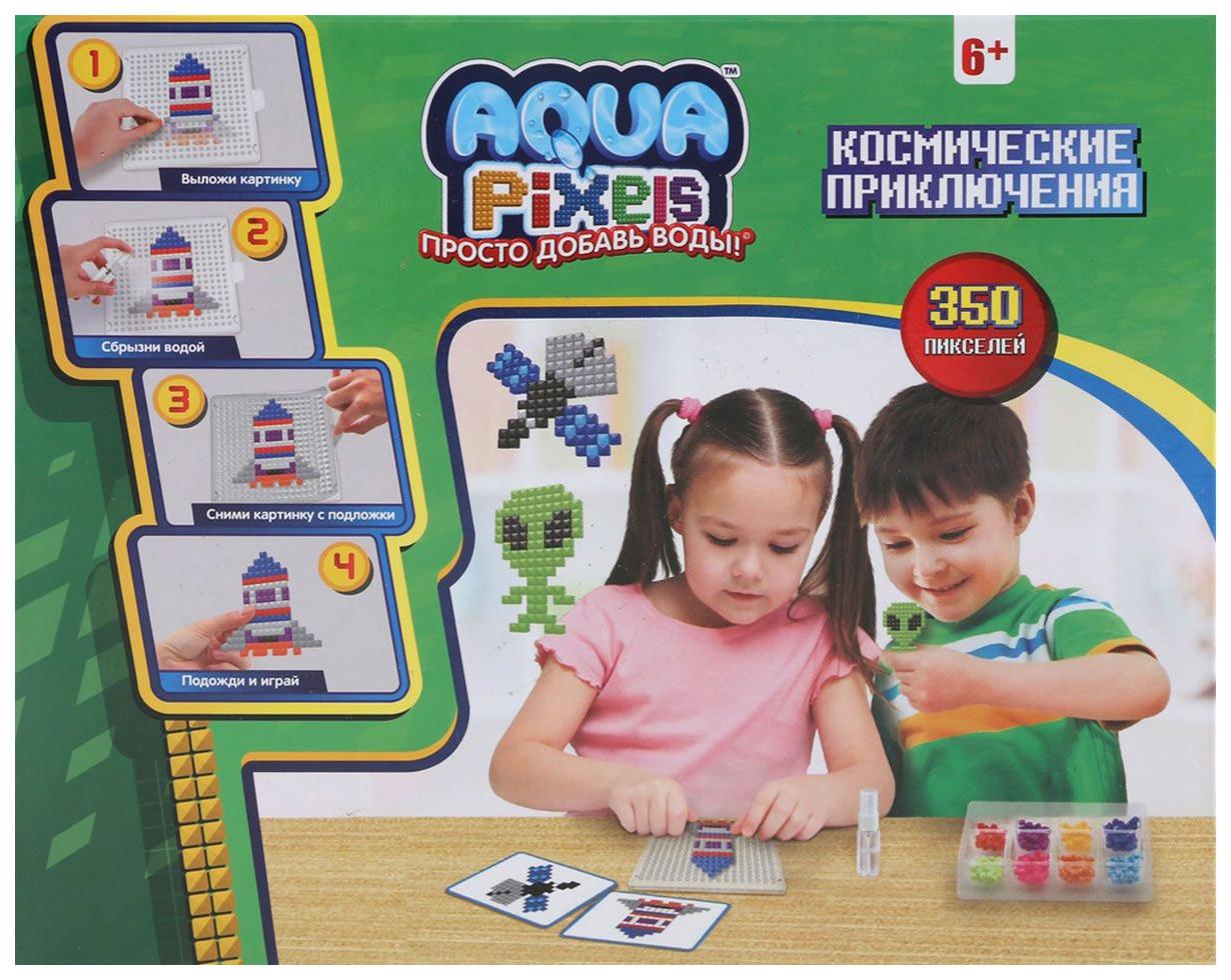 Купить 1 TOY Набор Aqua pixels Космические приключения, 350 деталей Т13080,