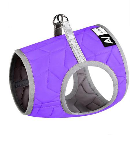 Шлейка для собак Collar AiryVest ONE, мягкая, фиолетовая, XS1