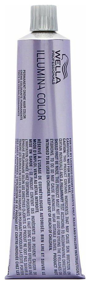 Краска для волос Wella Illumina Color 10/69 Яркий блонд фиолетовый сандрэ 60 мл