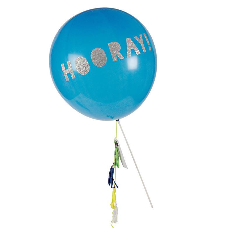 Купить Воздушные шары Meri Meri на палочках синие,