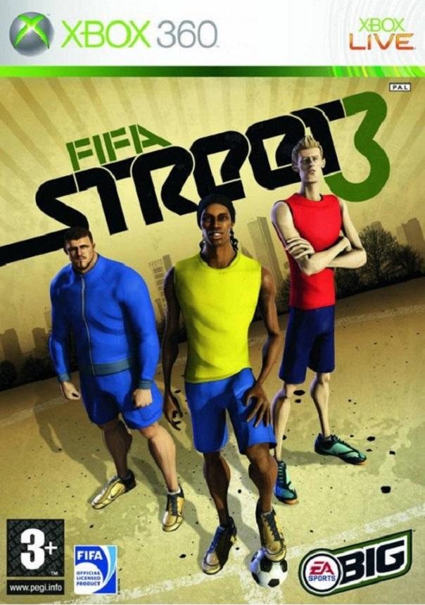 NOBRAND FIFA STREET 3