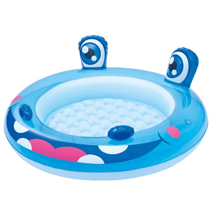 Купить Детский бассейн Гиппопотам 98х33 см, 26 л, Bestway, Детские бассейны