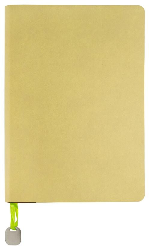 Ежедневник датированный на 2020 год Colourplay A5 168 лист. линия, бежевый, салатовый срез