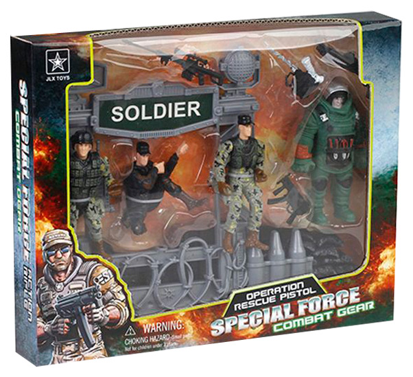 Купить Игровой набор Солдатики Shantou Gepai Special Force Военная техника с солдатиками 6633B, Игровые наборы