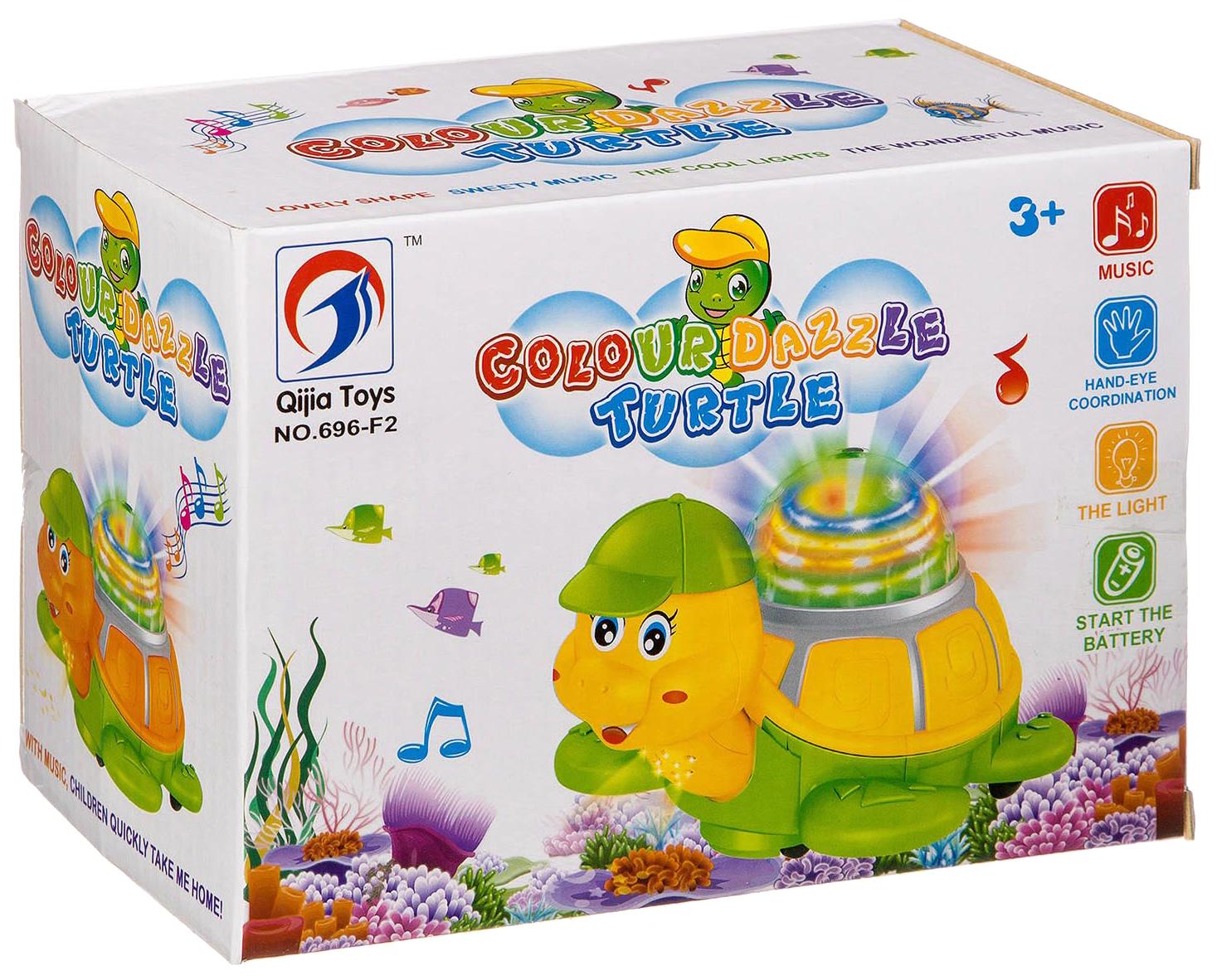 Купить Черепаха со световыми и звуковыми эффектами, Shenzhen Jingyitian Trade, Интерактивные животные
