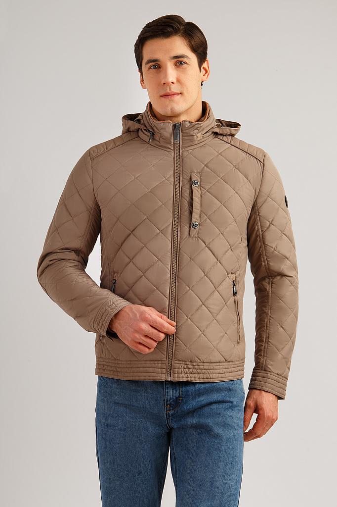 Куртка мужская Finn Flare B19-21014 коричневая M фото