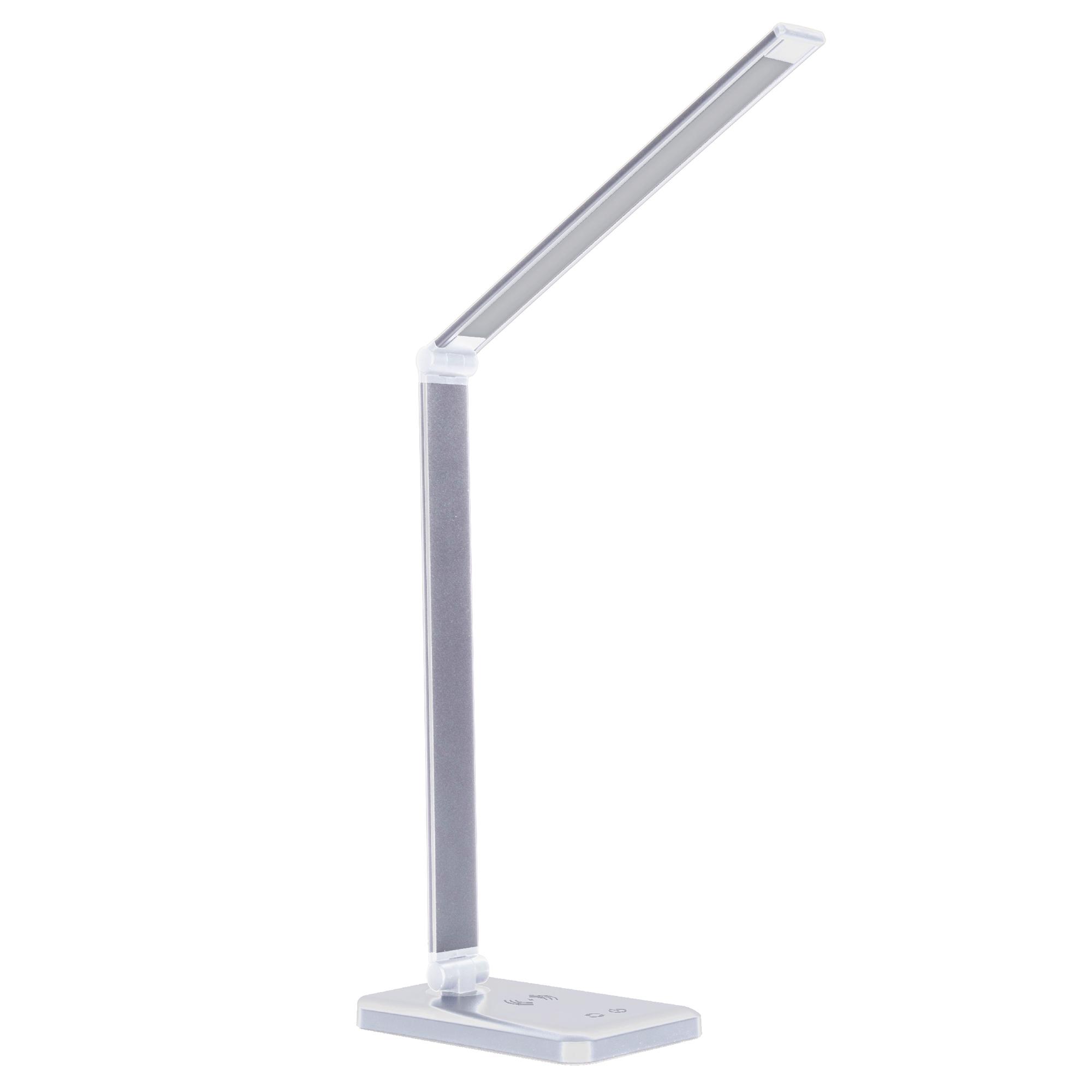 Светодиодный настольный светильник СТАРТ CT302 белый, LED 10Вт, беспроводная зарядка Qi